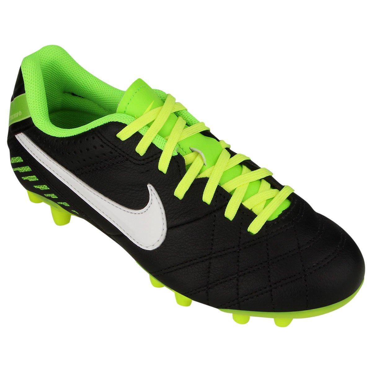 Chuteira Nike Tiempo Natural 4 LTHR FG Infantil - Compre Agora ... 6781353eca2a7
