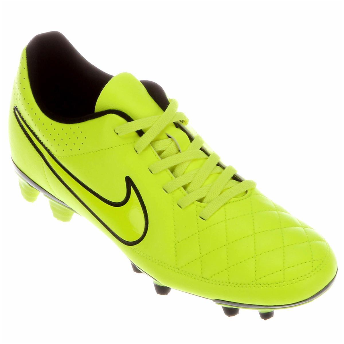 f03ade598b Chuteira Nike Tiempo Rio 2 FG Campo - Compre Agora