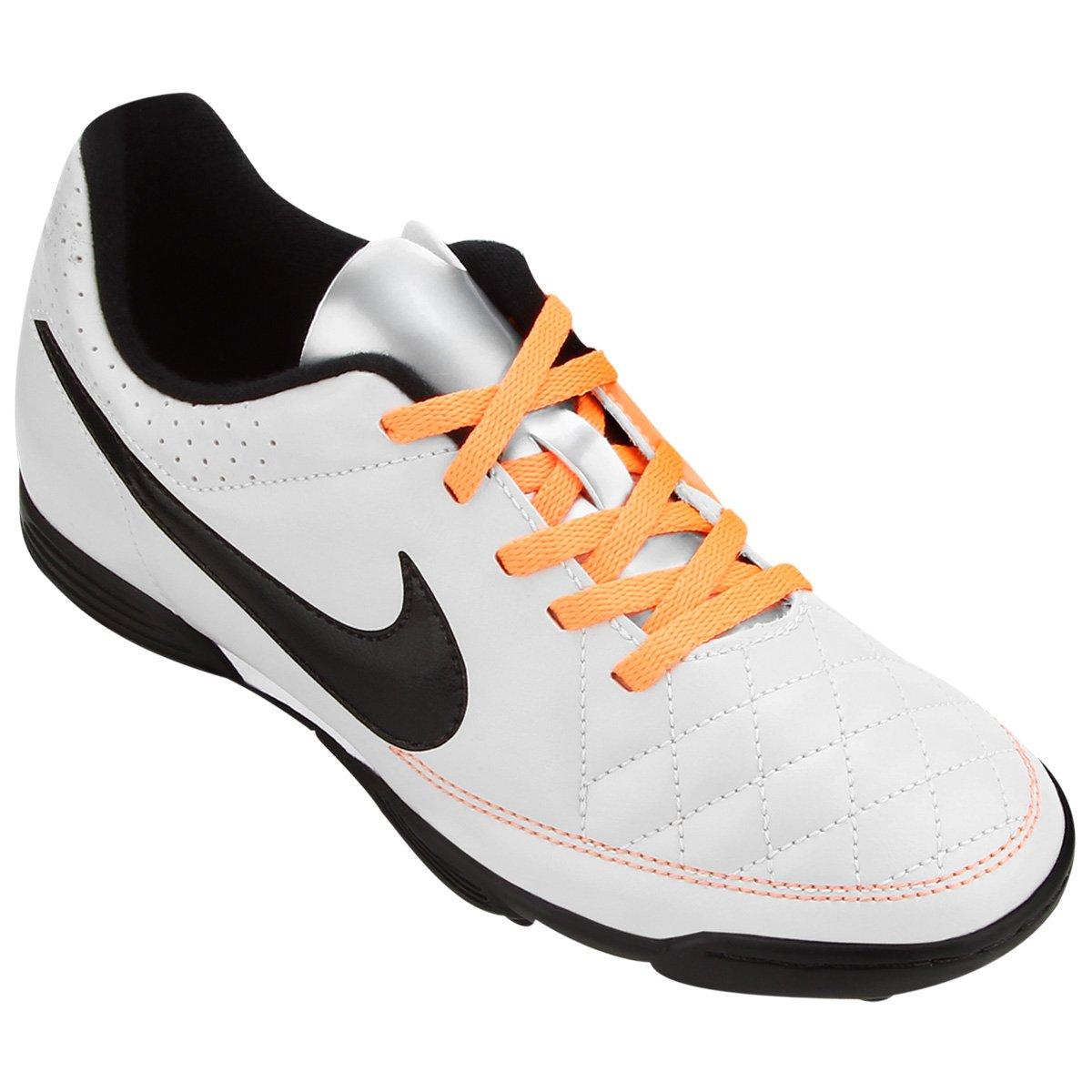 Chuteira Nike Tiempo Rio 2 TF Society Infantil - Compre Agora  83ee3cac89ca9