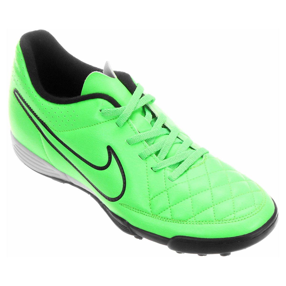 Chuteira Nike Tiempo Rio 2 TF Society - Compre Agora  c7b4d335742a6