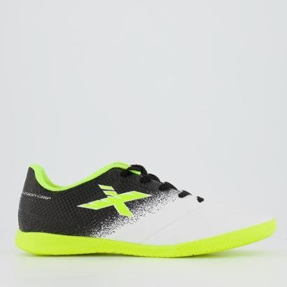Chuteira Oxn Fusion Grip 2 Futsal Juvenil