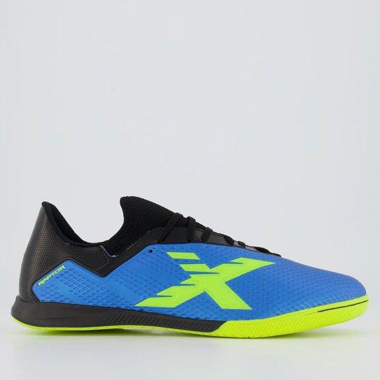 Chuteira Oxn Raptor Neo Futsal - Azul