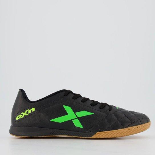 Chuteira Oxn Rio Futsal - Preto