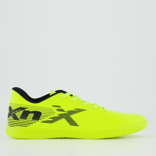 Chuteira Oxn Velox 2 Futsal Juvenil - Verde Limão