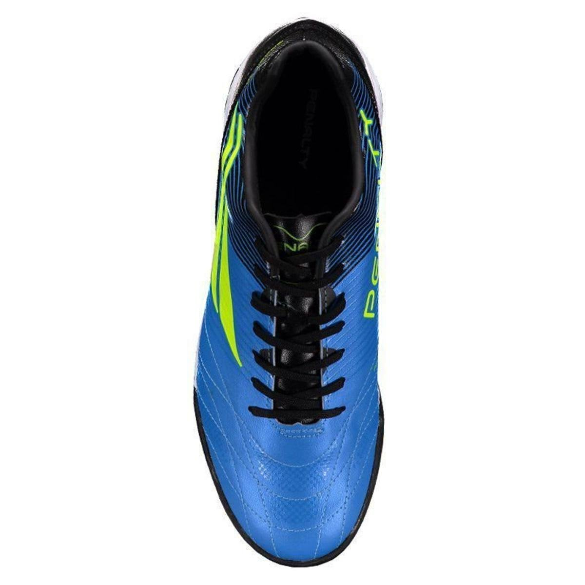 Chuteira Penalty Brasil 70 R2 VIII Society Masculina - Azul - Compre ... 7816877d39f8b