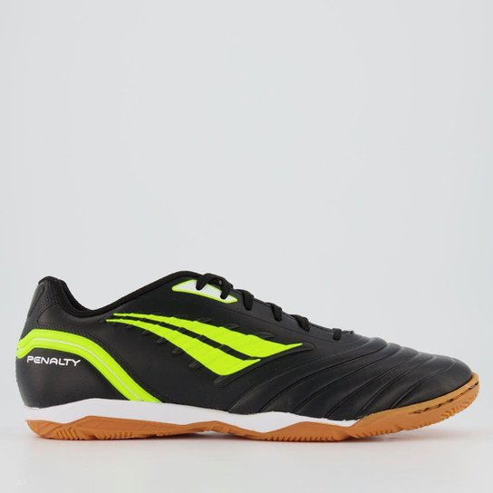 Chuteira Penalty Futsal Brasil 70 R1 IX - Preto