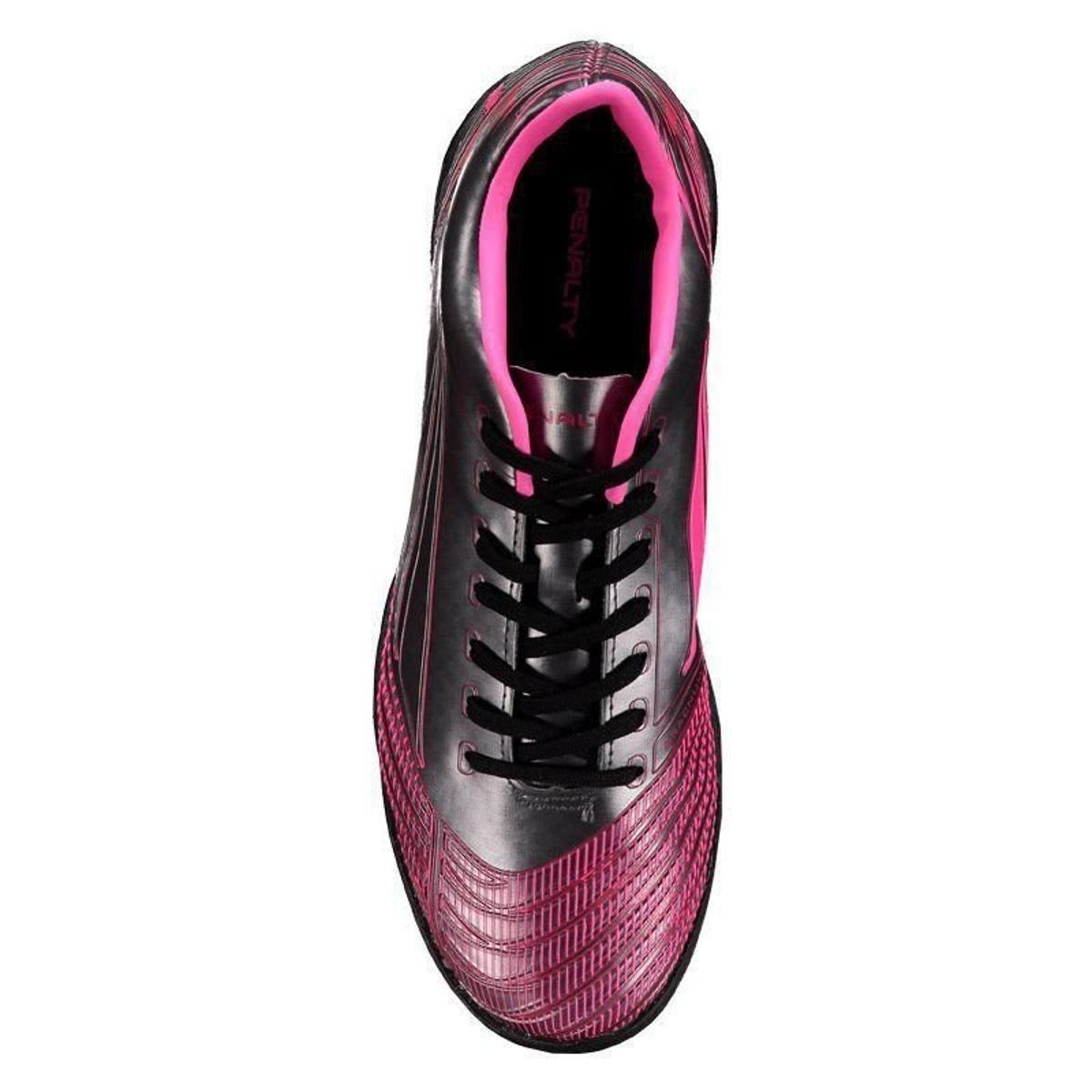 Chuteira Penalty S11 R2 Society Masculina - Rosa - Compre Agora ... 7cd869d0e5977
