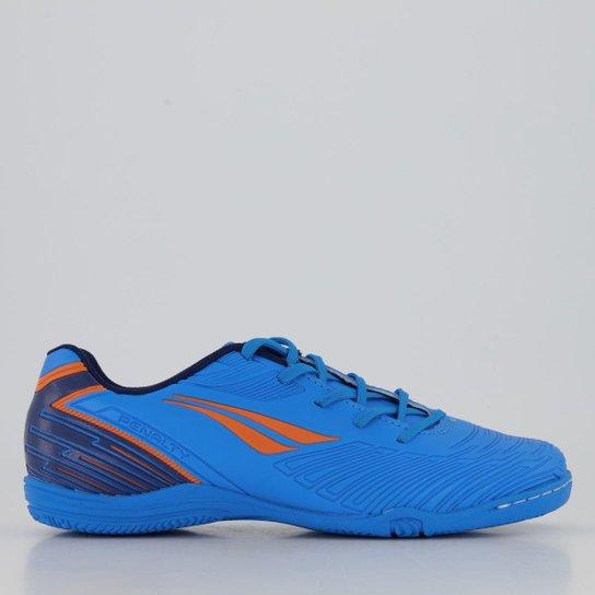 Chuteira Penalty Speed XX Futsal Juvenil - Azul