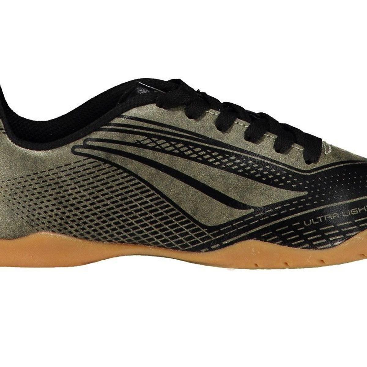 9f3967e3d2 Chuteira Penalty Storm Speed VII Futsal Juvenil - Dourado - Compre ...