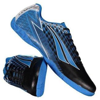 Chuteira Penalty Storm VIII Futsal Azul