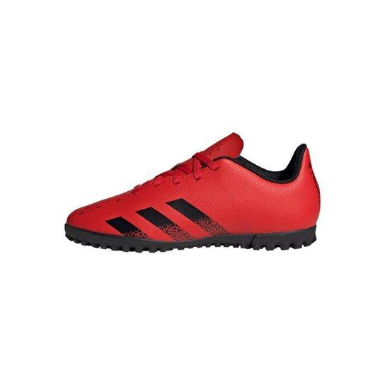 Chuteira Predator Freak.4 Society Adidas - Laranja+Preto