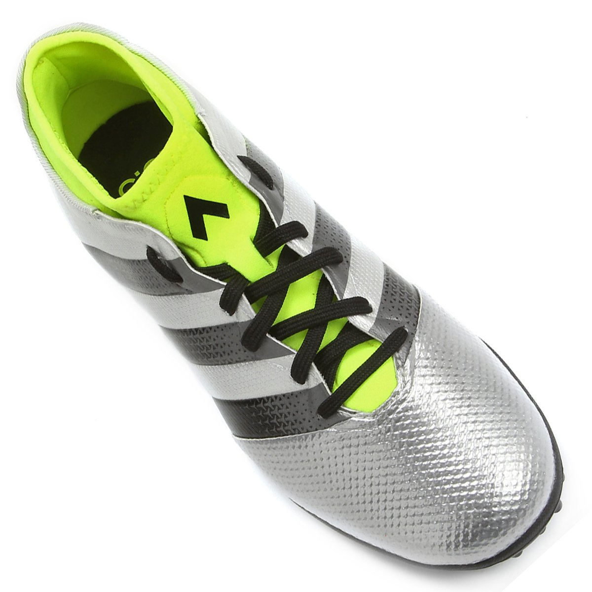 0e6485bdb5 Chuteira Society Adidas Ace 16.3 Primemesh TF Masculina - Prata e ...