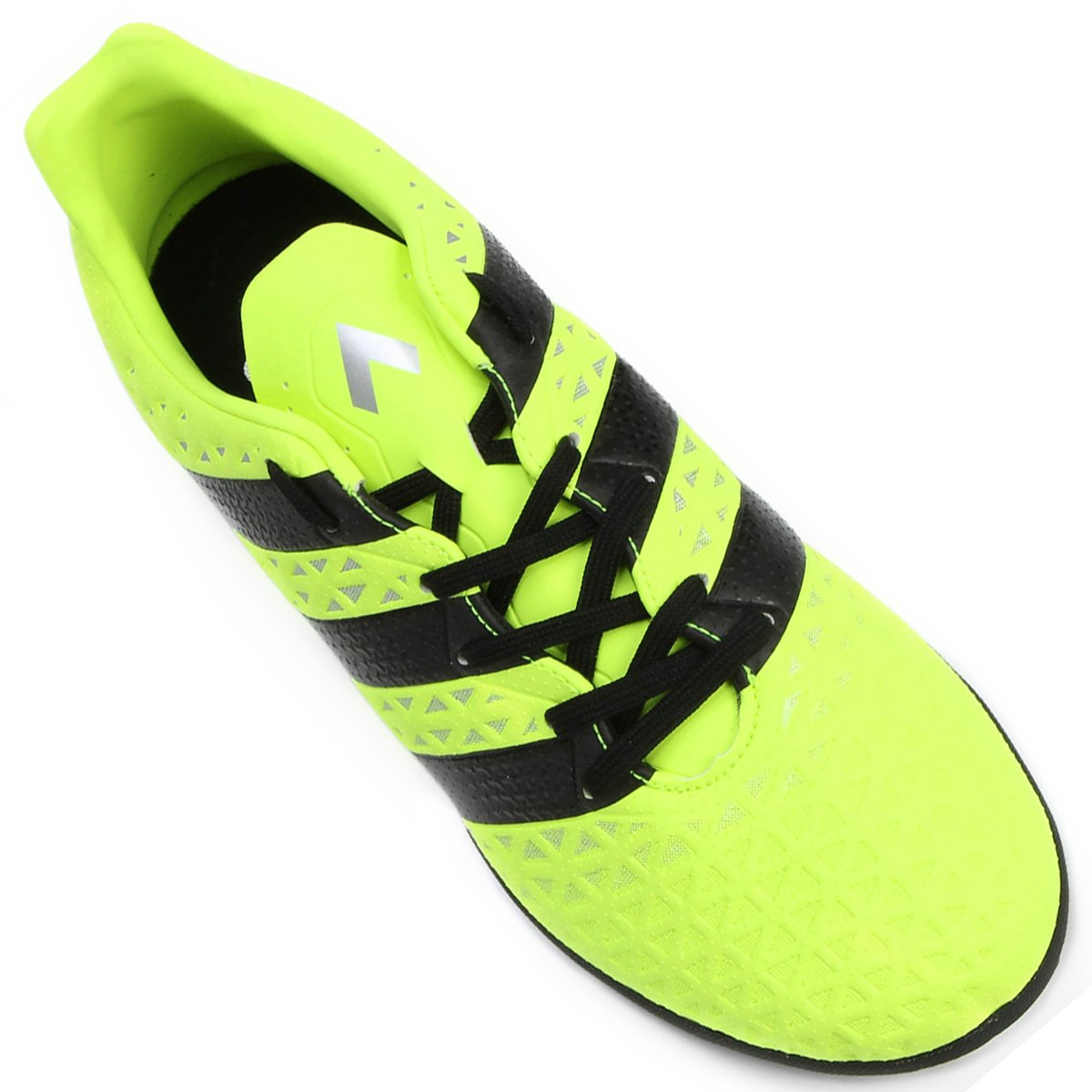 Chuteira Society Adidas Ace 16.3 TF Masculina - Verde Limão e Preto ... 3e5bbfa6c8f66