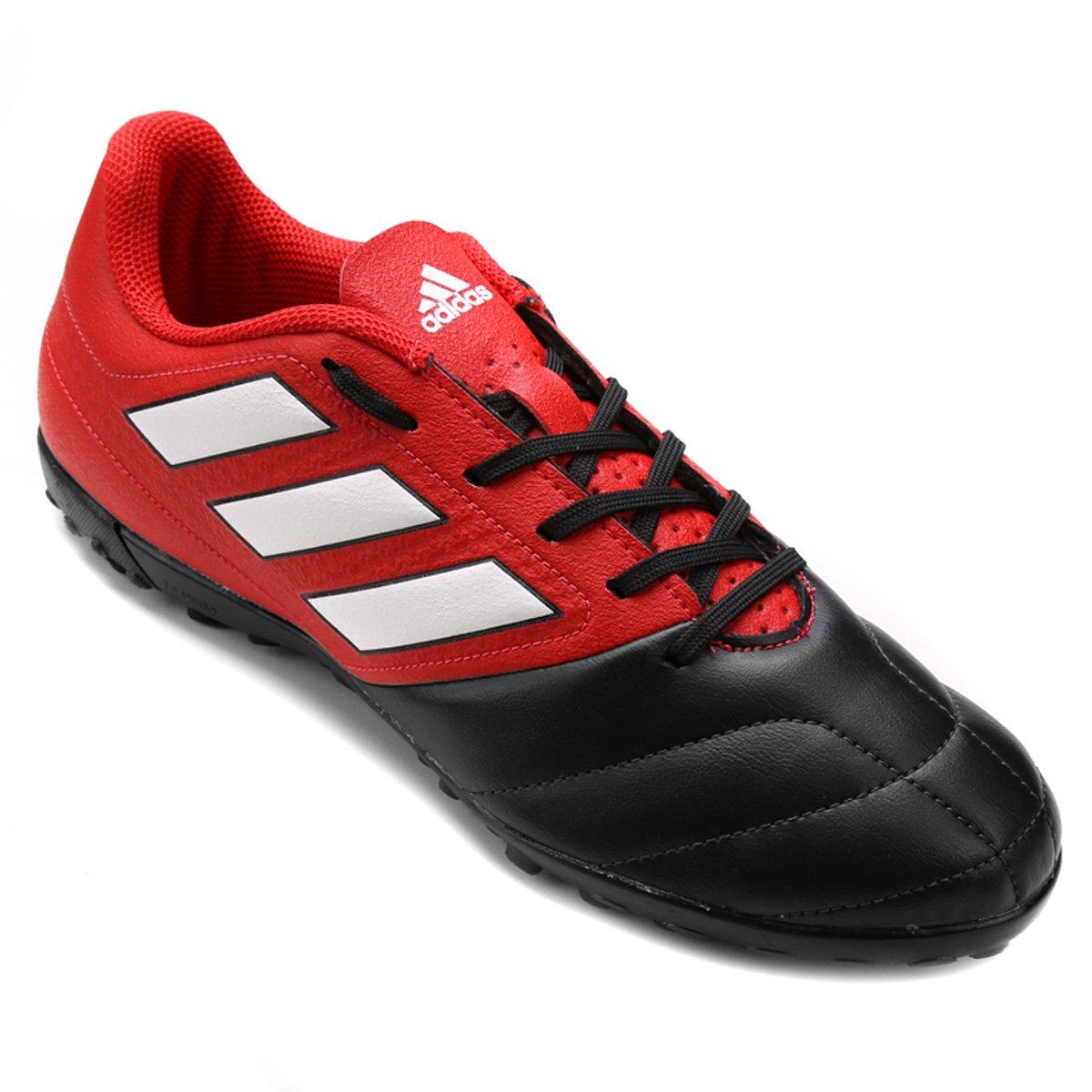 4820b1d3d Chuteira Society Adidas Ace 17.4 TF Masculina - Vermelho e Preto - Compre  Agora