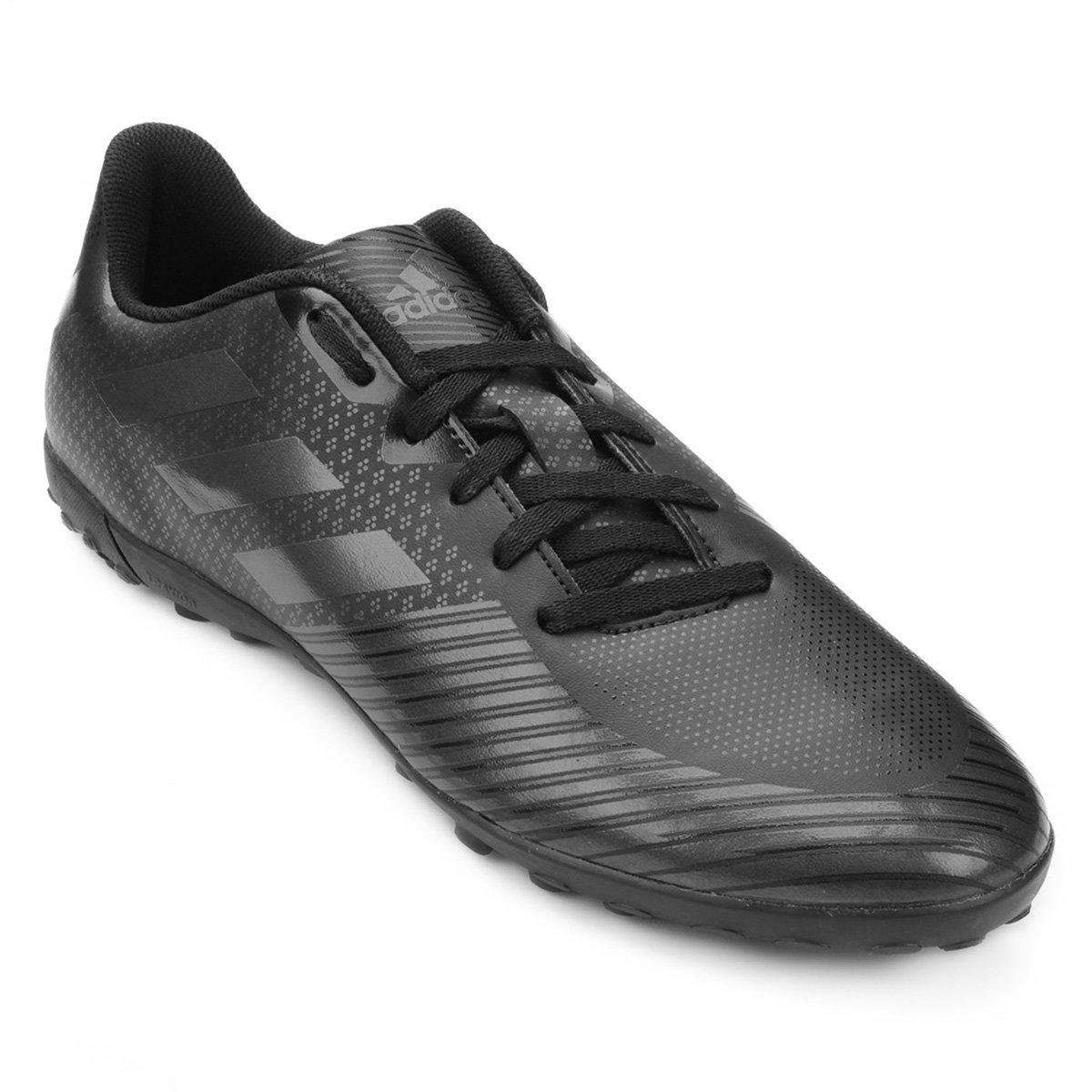 Chuteira Society Adidas Artilheira 18 TF - Preto - Compre Agora ... d3c0de40658bc