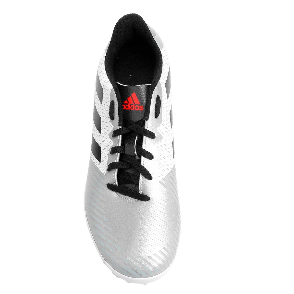 9bec2de058 Chuteira Society Adidas Artilheira 18 TF - Branco e Preto - Compre ...