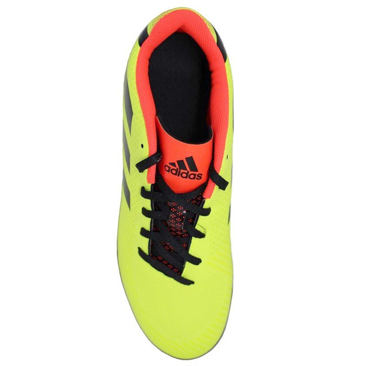 fa900e6381 Chuteira Society Adidas Artilheira III TF - Amarelo e Preto - Compre ...