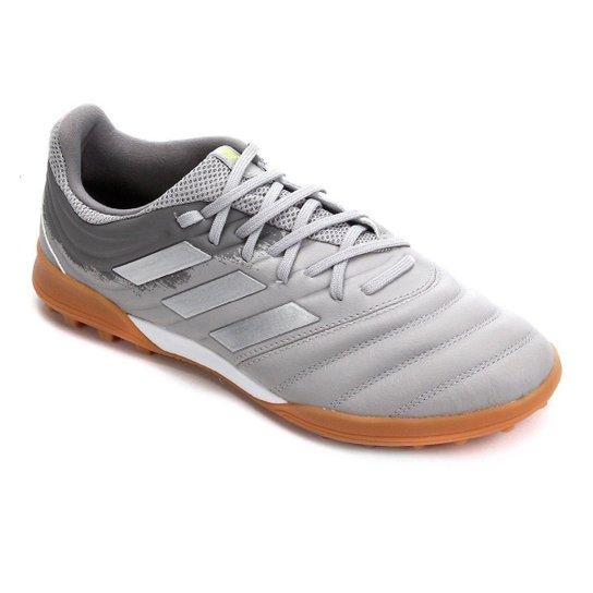 Chuteira Society Adidas Copa 20 3 TF - Cinza