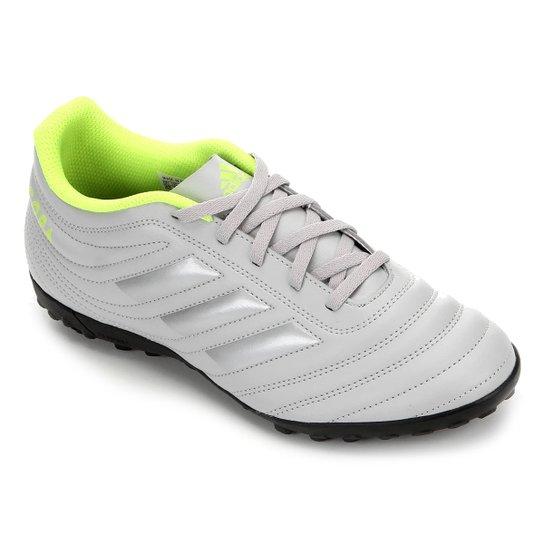Chuteira Society Adidas Copa 20 4 TF - Cinza