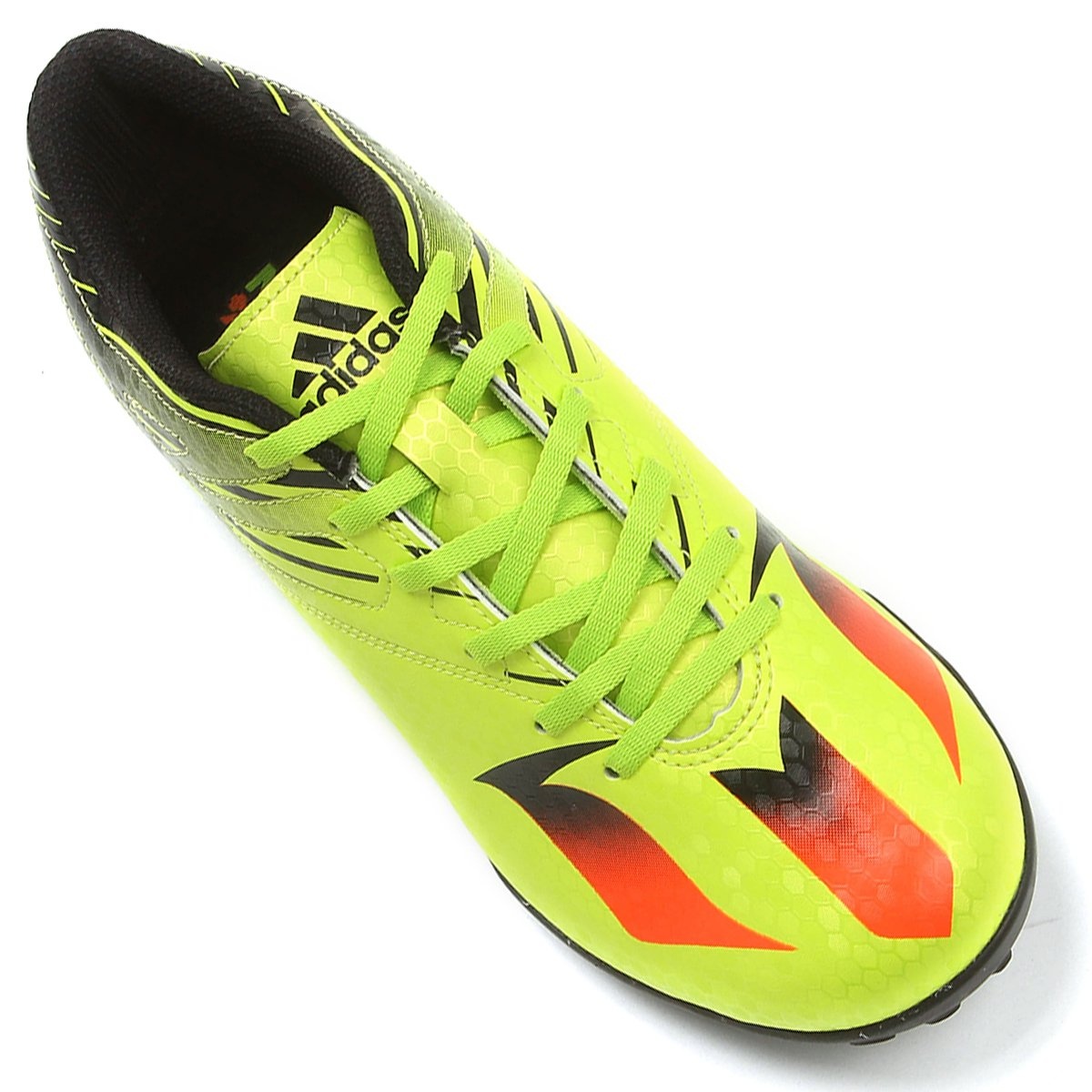 Verde Chuteira 15 Messi Limão e TF Masculina 4 Adidas Society Laranja aW1S0Tna