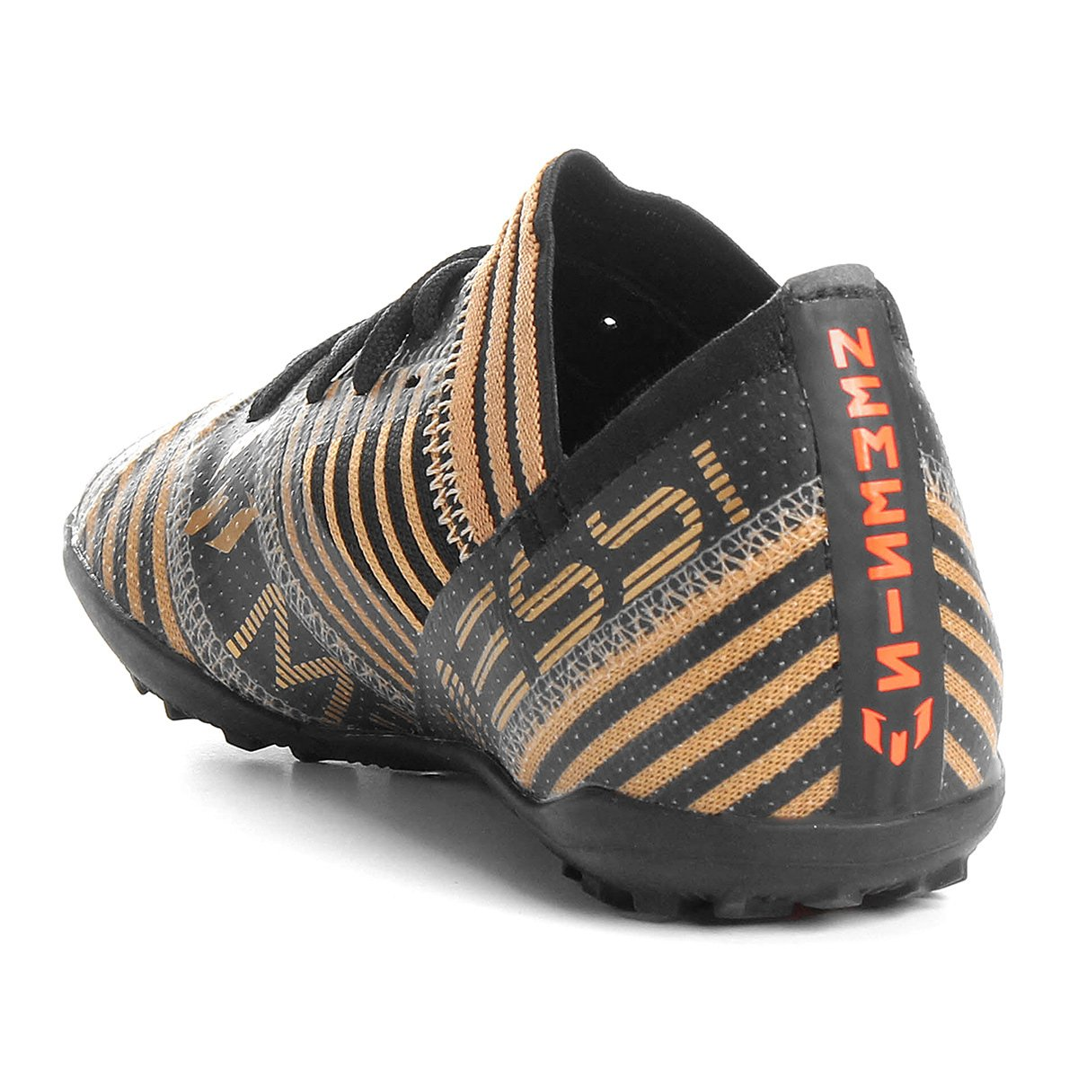 b944edec0f Chuteira Society Adidas Nemezis Messi 17 3 TF Infantil - Compre ...