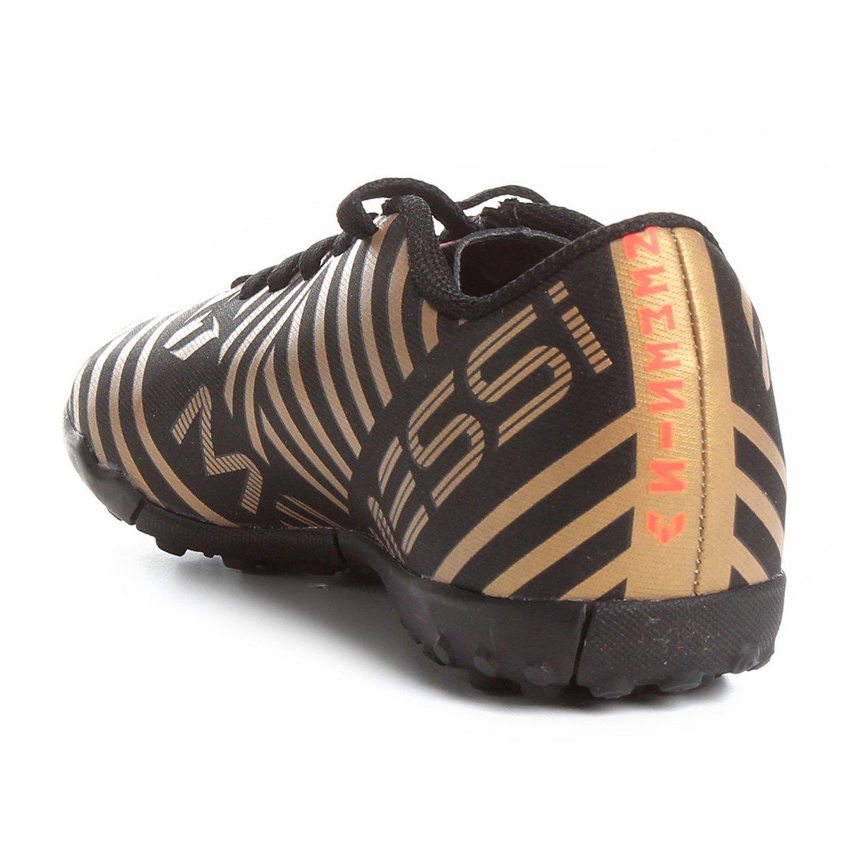 3dcd1f6bd6 Chuteira Society Adidas Nemezis Messi 17 4 TF Infantil - Compre ...