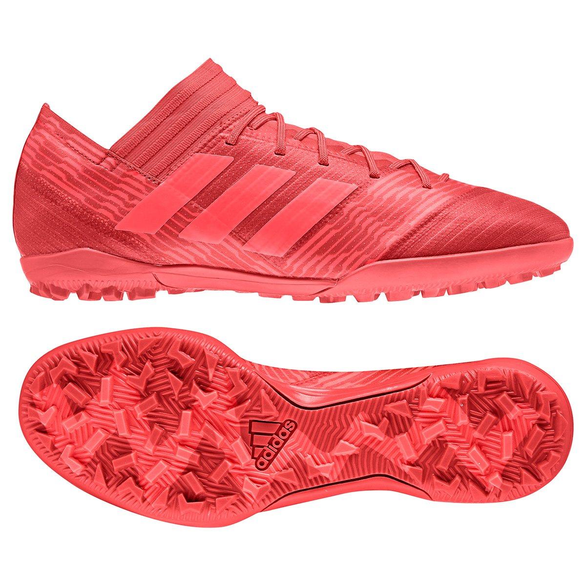 TF Vermelho Chuteira Nemeziz Chuteira Masculina 17 Society 3 Society Adidas R04Ra