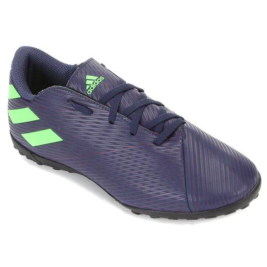 Menor preço em Chuteira Society Adidas Nemeziz Messi 19 4 TF - Roxo