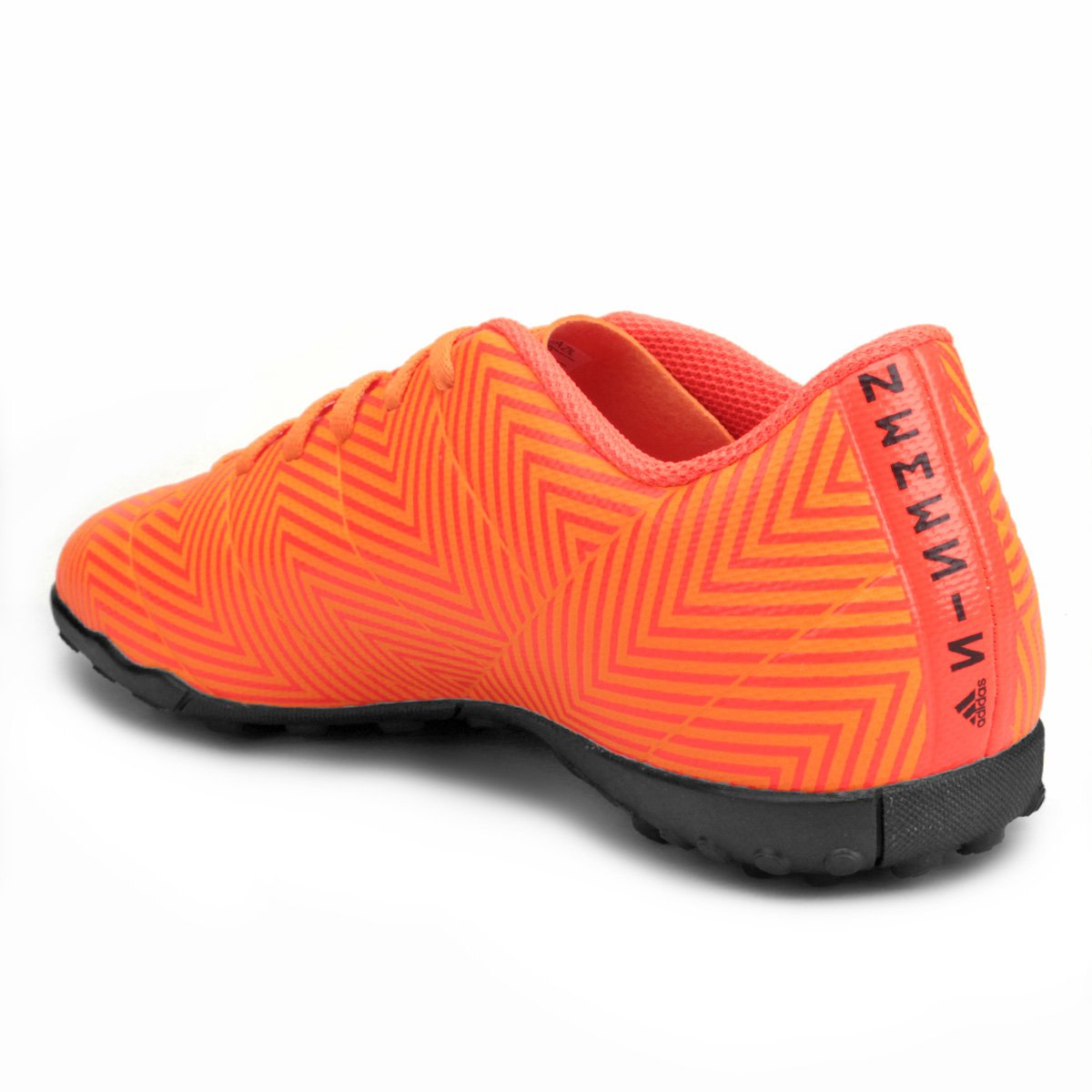625734b018 Chuteira Society Adidas Nemeziz Tango 18 4 TF - Laranja e Preto ...