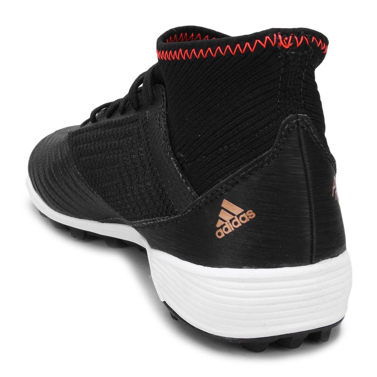 Chuteira Society Adidas Predator 18 3 TF Masculina - Compre Agora ... 74e4bcb09b0bd