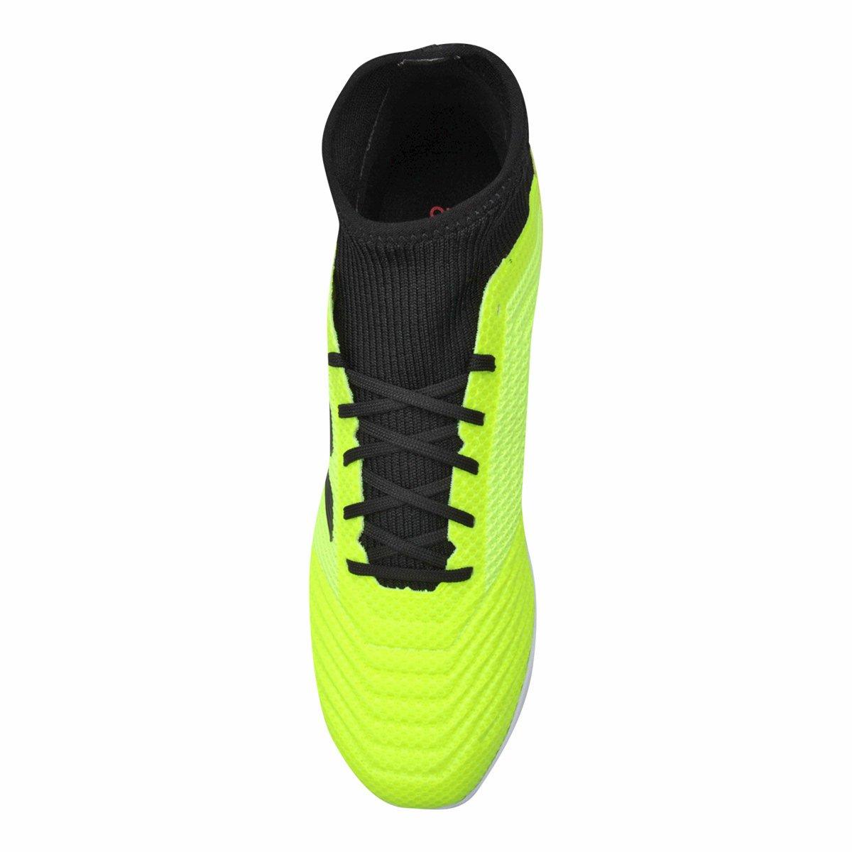 Chuteira Society Adidas Predator TAN 18 3 TF - Amarelo e Preto ... 4a35824ec3112