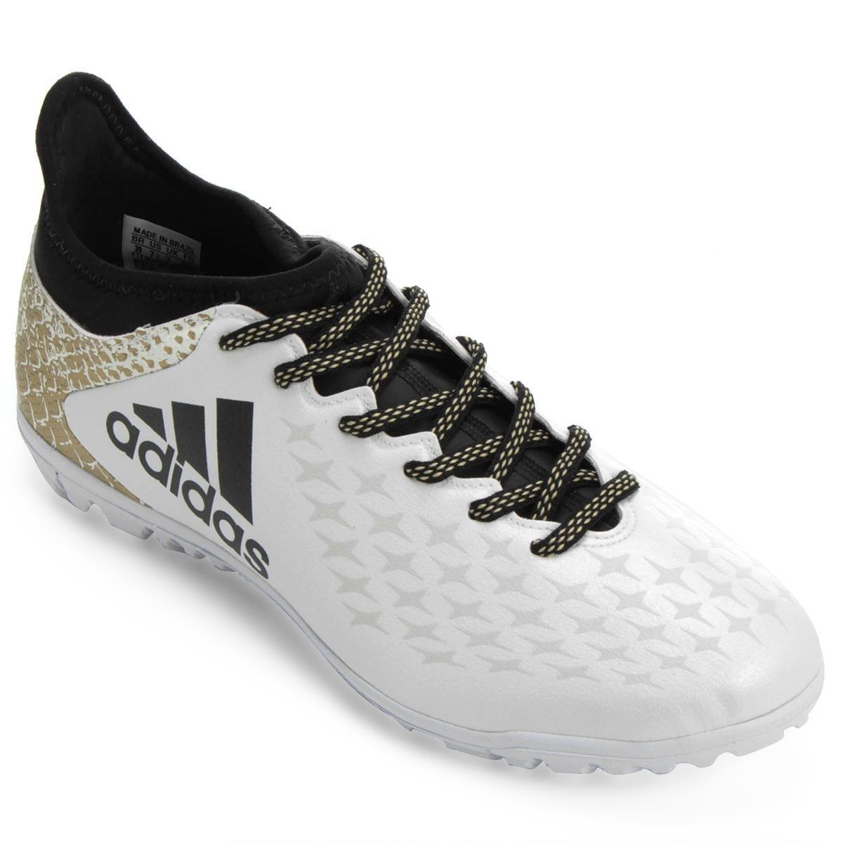 149360d157774 Chuteira Society Adidas X 16 3 TF Masculina - Compre Agora