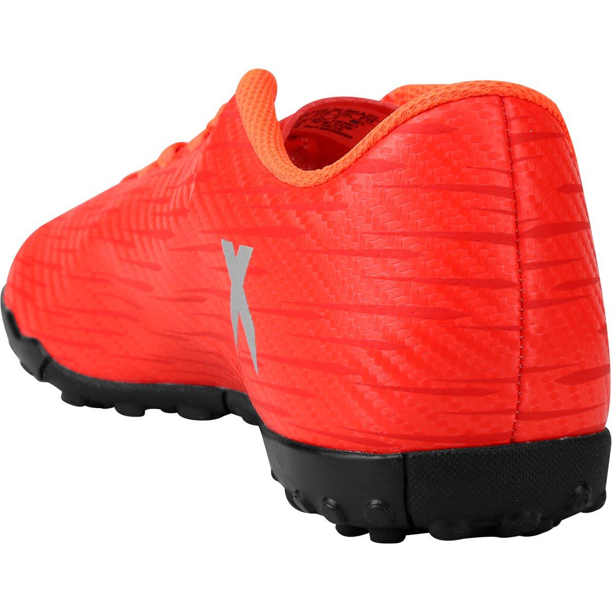 X Society Claro TF Chuteira 16 Adidas Vermelho 4 Masculina g7wvUCnx