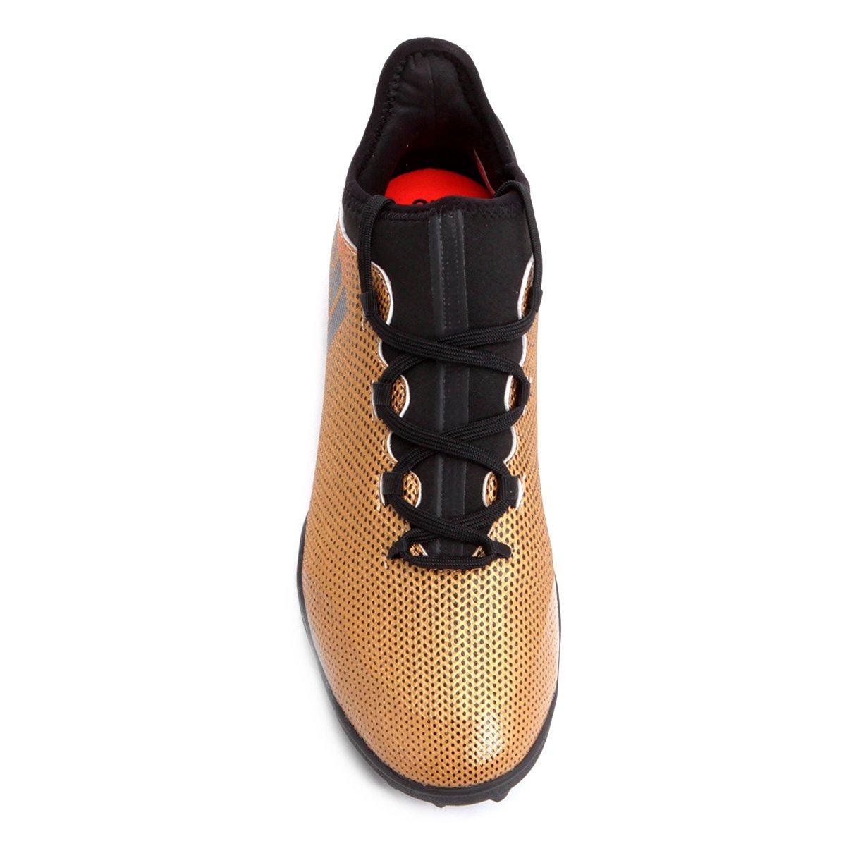 eb1c5230c8 Chuteira Society Adidas X 17 3 TF - Dourado - Compre Agora