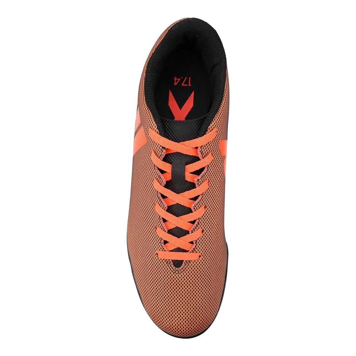 Chuteira Society Adidas X 17.4 TF - Preto - Compre Agora  81b052023c18f