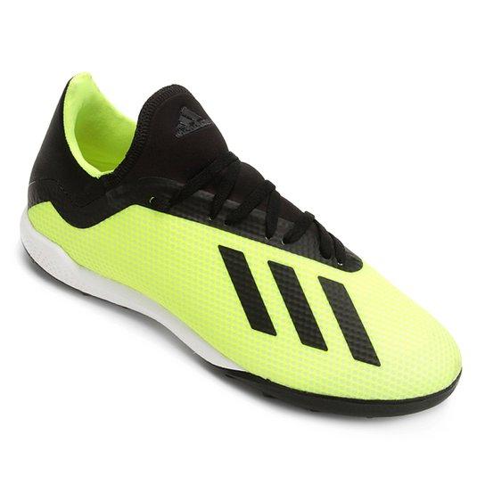 Chuteira Society Adidas X Tango 18 3 TF - Amarelo+Preto