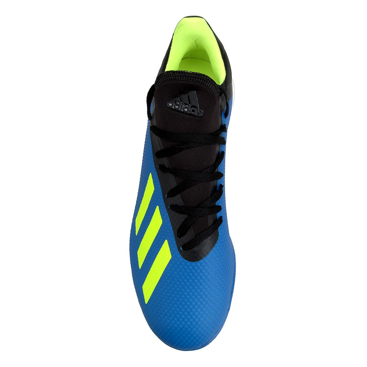 Chuteira Society Adidas X Tango 18 3 TF - Azul e Preto - Compre ... fb69f9b0de13b