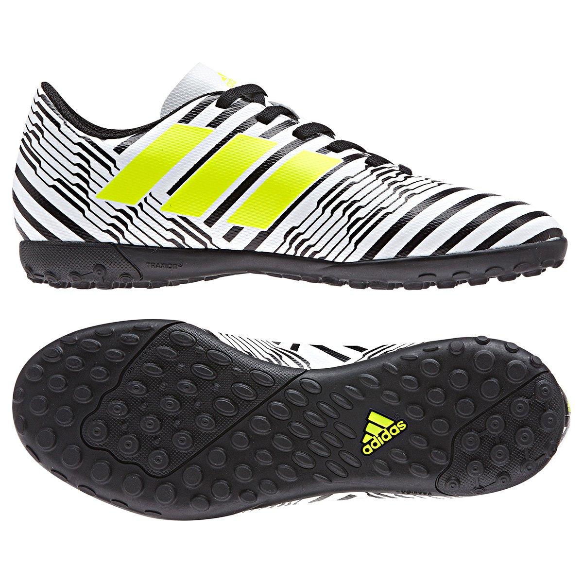 Chuteira Society Infantil Adidas Nemeziz 17.4 TF - Compre Agora ... c4aca434baa57