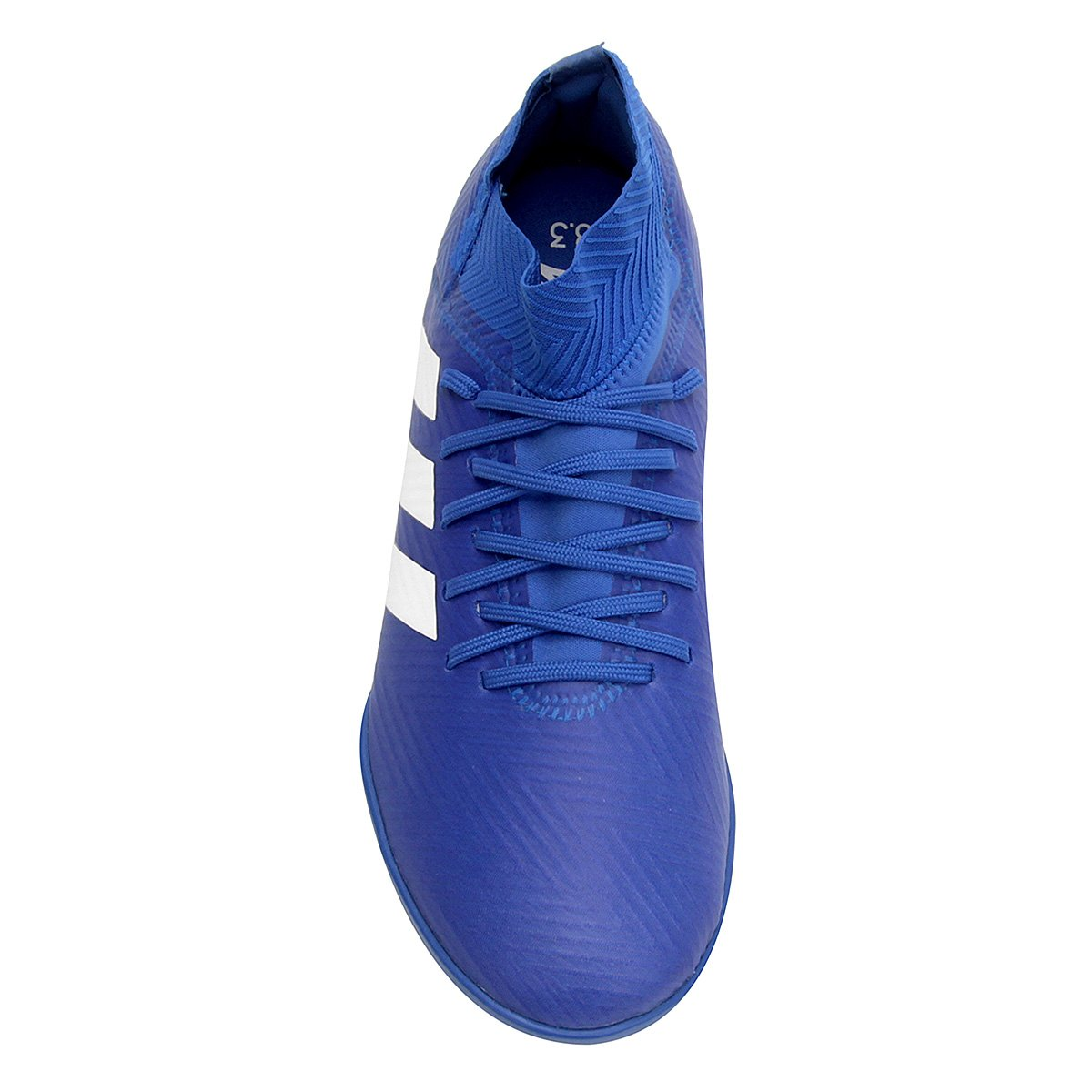 887f237c72 Chuteira Society Infantil Adidas Nemeziz Tango 18 3 TF - Azul e ...