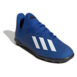 Chuteira Society Infantil Adidas X 19 3 TF Jr