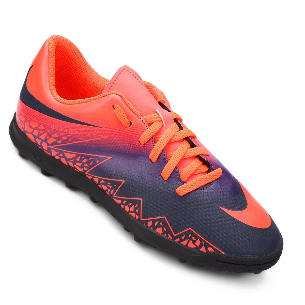 1a48ae026d492 Chuteira Society Infantil Nike Hypervenom Phade 2 TF - Compre Agora ...