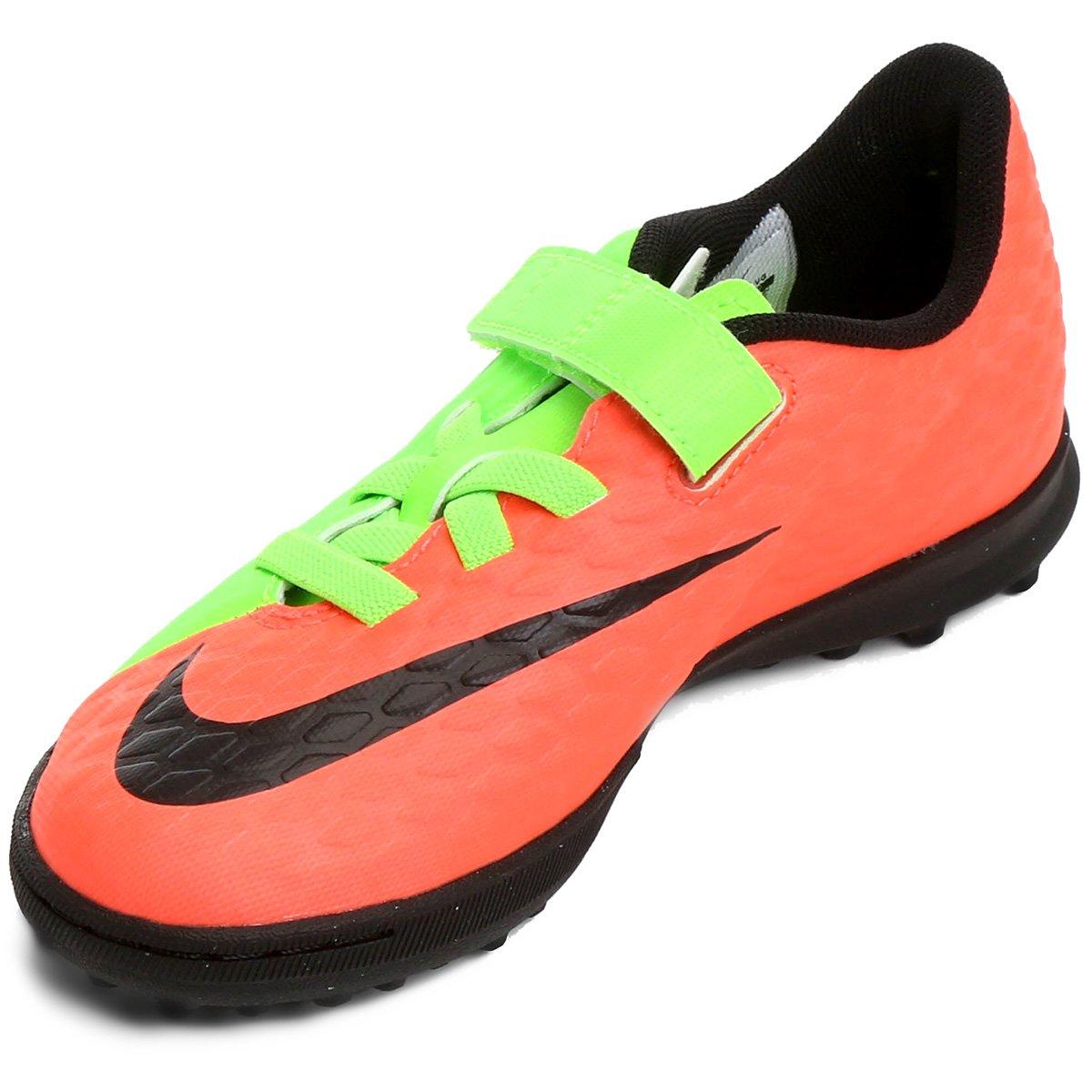 1467e8ec6f Chuteira Society Infantil Nike Hypervenom Phade 3 (V) TF - Compre ...