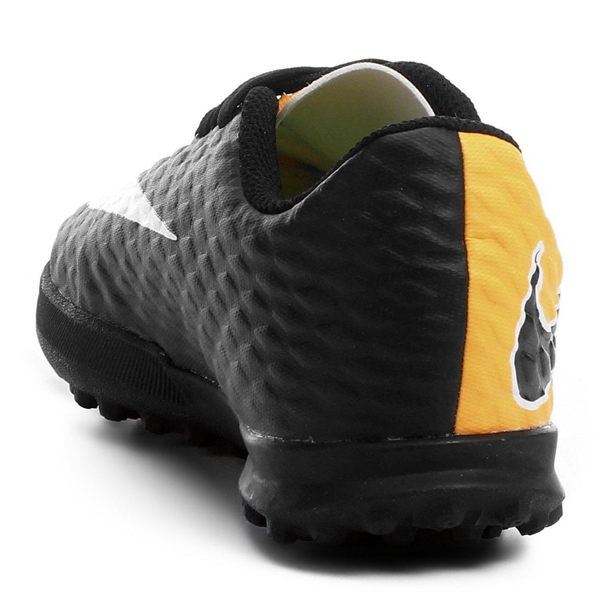 Chuteira Society Infantil Nike Hypervenom Phade 3 TF - Compre Agora ... 198486e1cd620