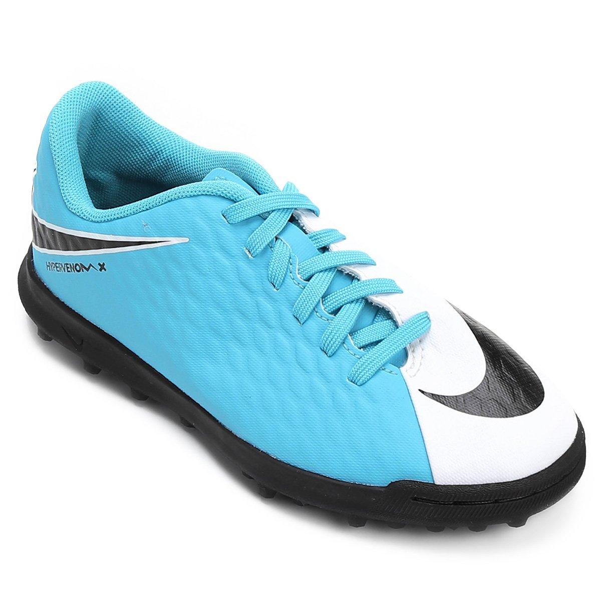 Chuteira Society Infantil Nike Hypervenom Phade 3 TF - Compre Agora ... b9c9564281cf5