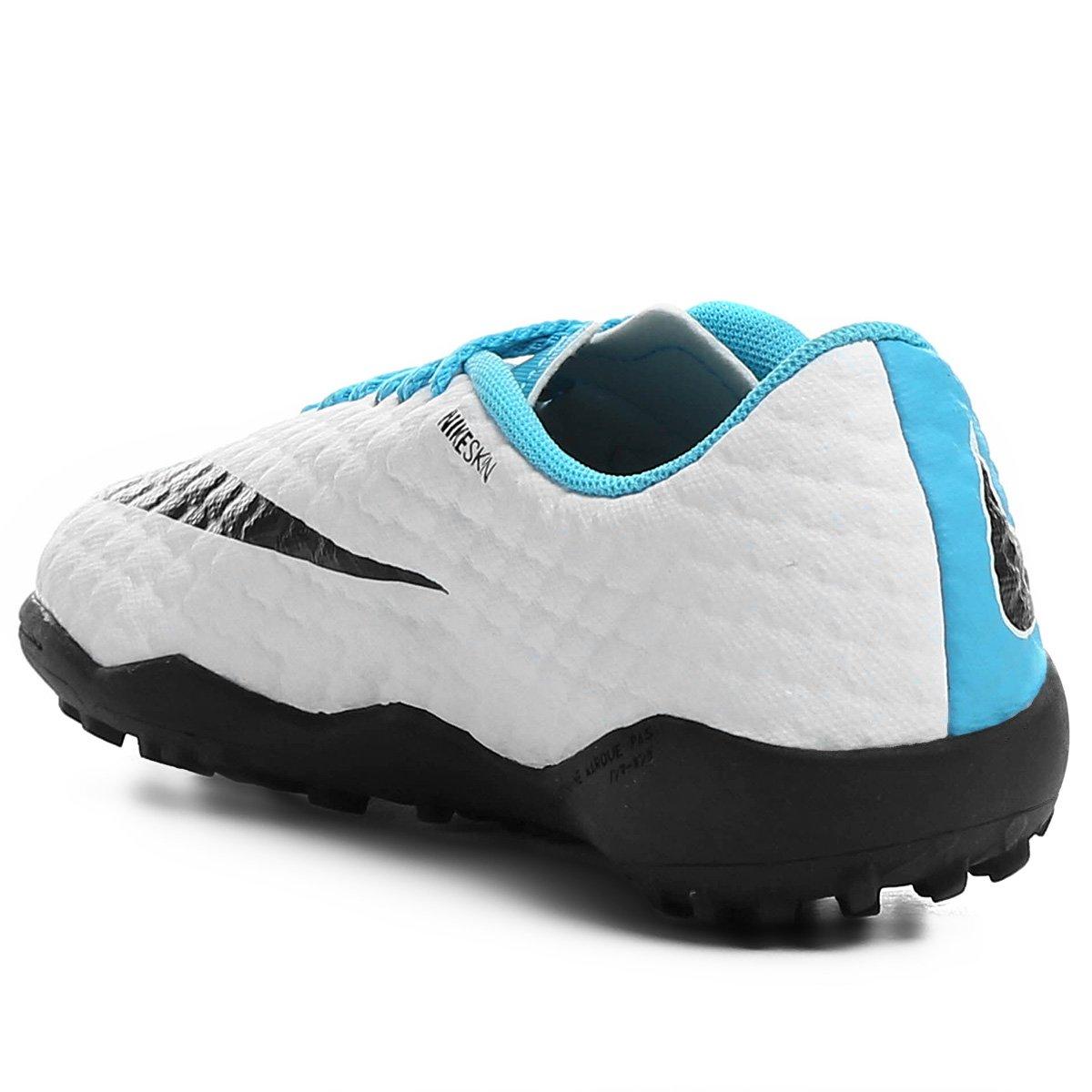 Chuteira Society Infantil Nike Hypervenom Phelon 3 TF - Compre Agora ... 49cd3b78609d5