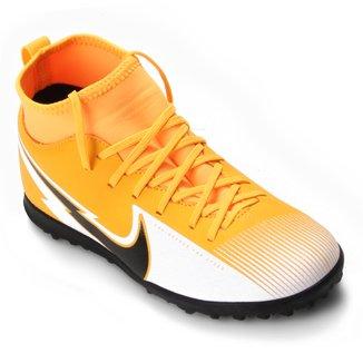 Chuteira Society Infantil Nike Mercurial Superfly 7 Club TF