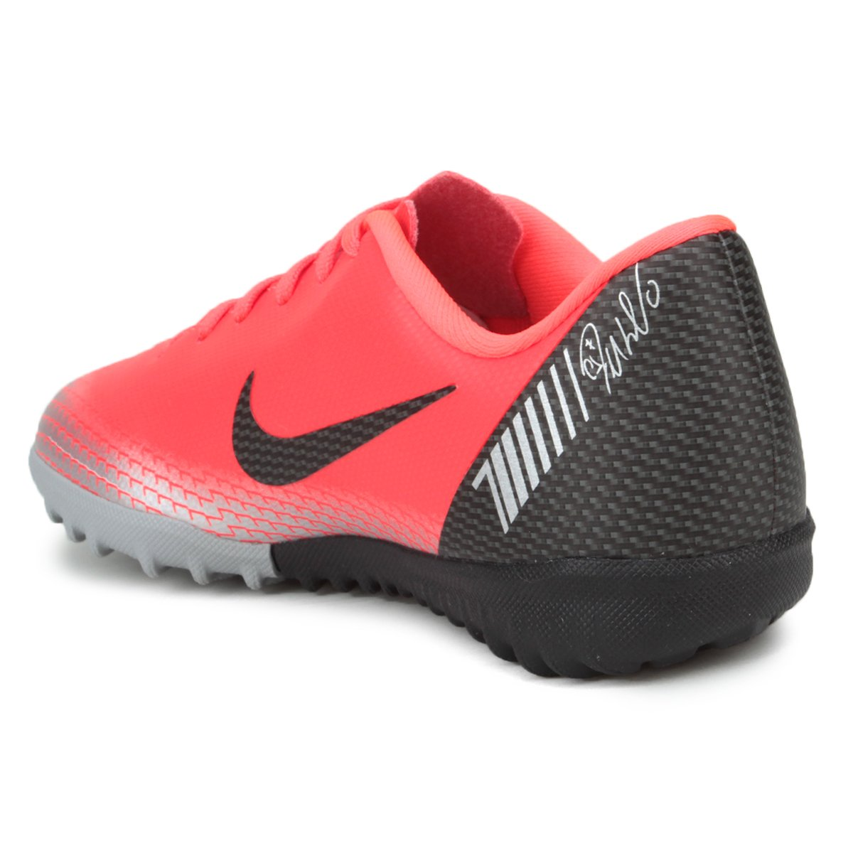 bafe501adf ... Chuteira Society Infantil Nike Mercurial Vapor 12 Academy GS CR7 TF ...