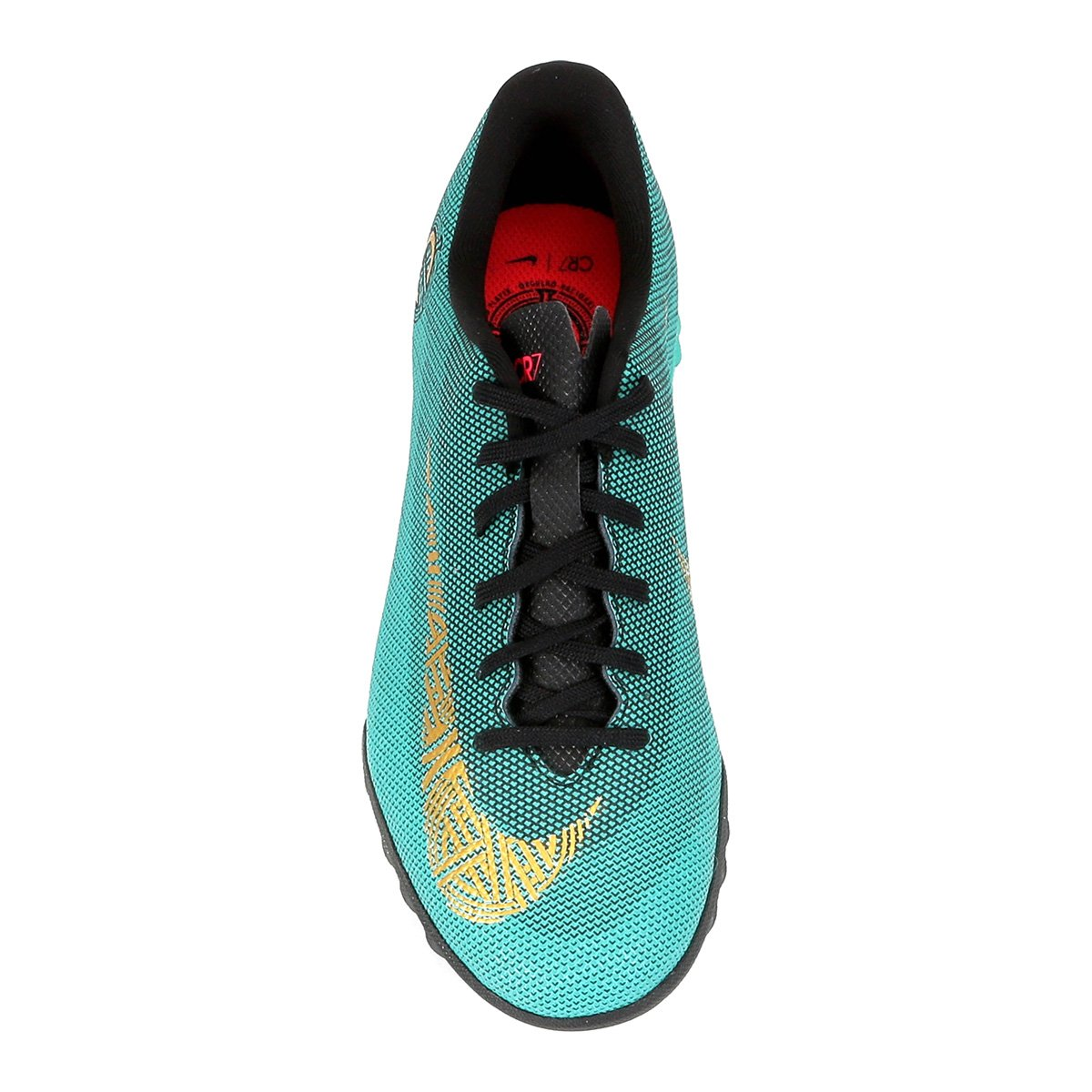 Chuteira Society Infantil Nike Mercurial Vapor 12 Academy GS CR7 TF ... 29e6f8ae8a8f9