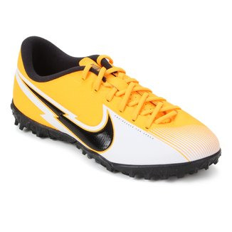 Chuteira Society Infantil Nike Mercurial Vapor 13 Academy TF