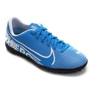 Chuteira Society Infantil Nike Mercurial Vapor 13 Club TF